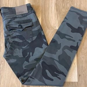 True Religion Jeans - True Religion Camo Skinny Jeans